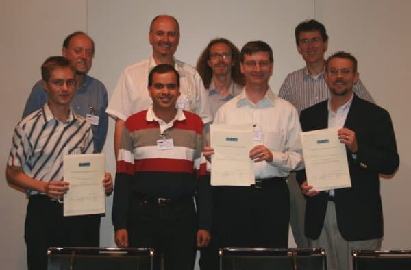 authors of outstanding papers with award